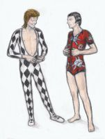 Ziggy Stardust and Freddie Mercury part2 by gagambo