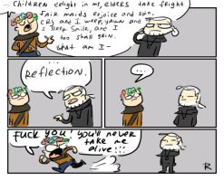 The Witcher 3, doodles 189 by Ayej