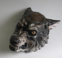 Werewolf Mask by FeralWorks