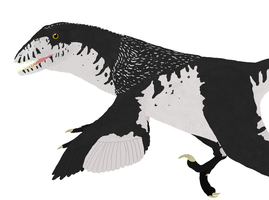 Primeval Se2 1.2: Deinonychus antirrhopus (Female) by sphenaphinae
