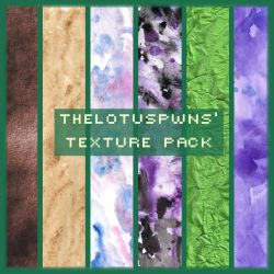 TheLotusPwns' Texture Pack 01 by FancyOctopusResource