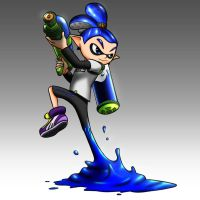 Inkling Boy - Splatoon by TheKid221