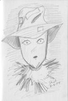 The Scarecrow Sketch by RogueDerek