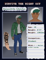 Survive The Night - Alexandrite App. by Always-Tea-Time