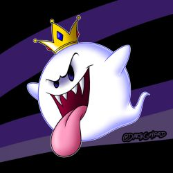 King Boo by DarthGuyford