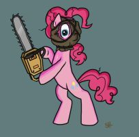 Scary Pinkie by SorcerusHorserus