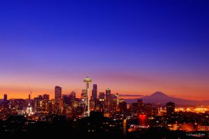 Seattle from Kerry Park by UrbanRural-Photo