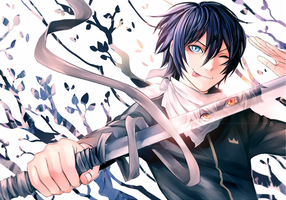 Noragami   Yato And Sekki By Shumijin by Adverz