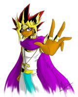 Pharaoh Atemu by Yami-No-Spirit-luver