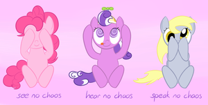 The Three Ponies by hip-indeed