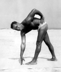 Charles Atlas stretching excersice - Isometrics by Newjeo