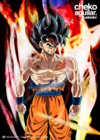 To the limit! New transformation of Goku? by ChekoAguilar