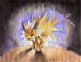 Jolteon by scarlettie90