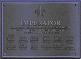 Imperator Dedication Plaque by docwinter