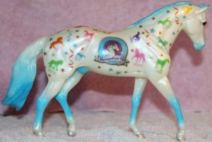 Breyer Let's Celebrate 2 of 3 Stock ~ Stock Horse by Lovely-DreamCatcher