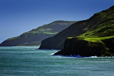 View from Torr Head by roxiannie