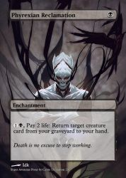 Phyrexian Reclamation by Itsfish3