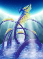 Water Dragon Rising by tommychan