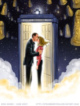 Doctor Who - Parting of Ways by strawberrygina