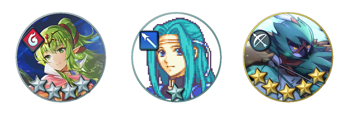 [XCF] Fire Emblem Heroes Circle Avatar Template by caliburnus