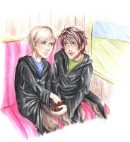 HP - epilogue - On the train by Mayo-chan