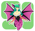 Morrigan by Giga-Puddi