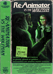 Re-Animator vs the Wolfman by Viergacht