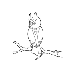 Vigil the Noctowl by DarthCloakedGuy
