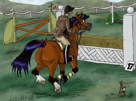 OHHT Hunter Trials Meredith. by Louvan
