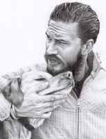 Tom Hardy by fionabird