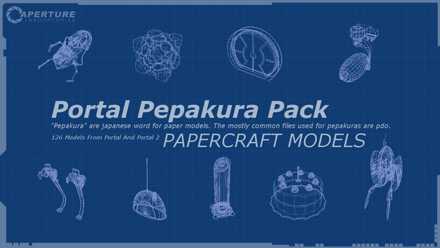 WIP - Aperture Science Portal Pepakura Pack (126) by SmakkoHooves