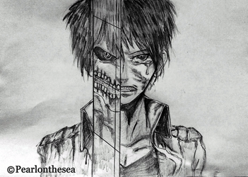 Attack on Titan - Eren Jaeger by Pearlonthesea