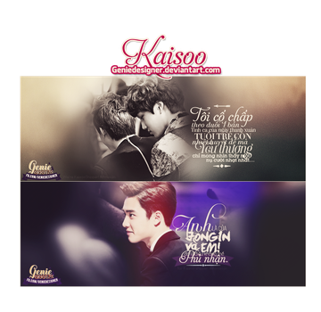 PACK QUOTES - WE BELIEVE IN KAISOO ! by GenieDyo