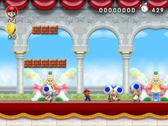 New Super Mario Forever 2012 - Palace chatting by softendo