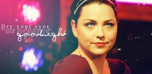 Amy Lee: Goodnight by EvFan