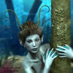 SULTRY MERMAID closeup by LlolaLane