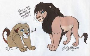What lionesses want by MadKakerlaken