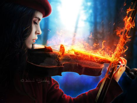 The Lost Symphony by Ahmed-R-Shalaby