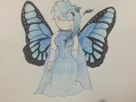 Butterfly girl  by Lifeistrange