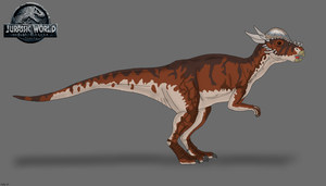 JW: Fallen Kingdom - Stiggy the Stygimoloch by TrefRex