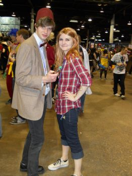 The Doctor and Amy Pond by kimi1281