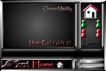 Xat Home Chat Background by MikeDarko
