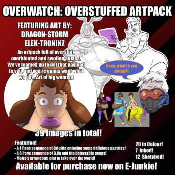 OverStuffed Artpack by Dragon-Storm