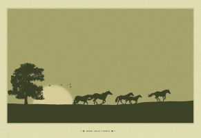 Green Valley Ranch - Vector by LessOrdinary