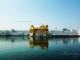 The Golden Temple by SukhRiar