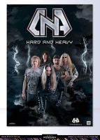Metal band- D.N.A-poster design-2 by R1Design