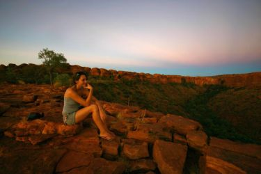 Sarah at Kings Canyon by Thrill-Seeker