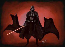 Lord Sith Darth Vader by Exeivier