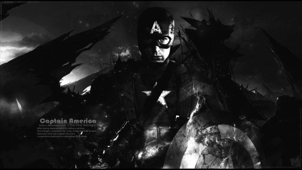 Captain America the Battle End - wallpaper V4 by Mido-Vlan