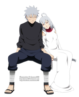 Commission - Tobirama x Gin by dannex009